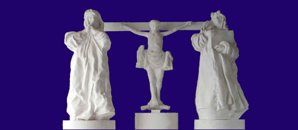 Slavnostní požehnání sousoší kalvárie