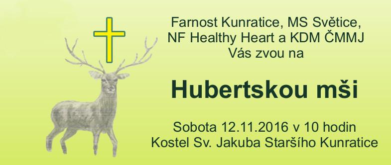Hubertská mše svatá 12.11.2016