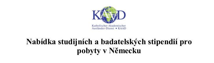 Stipendia KAAD do Německa
