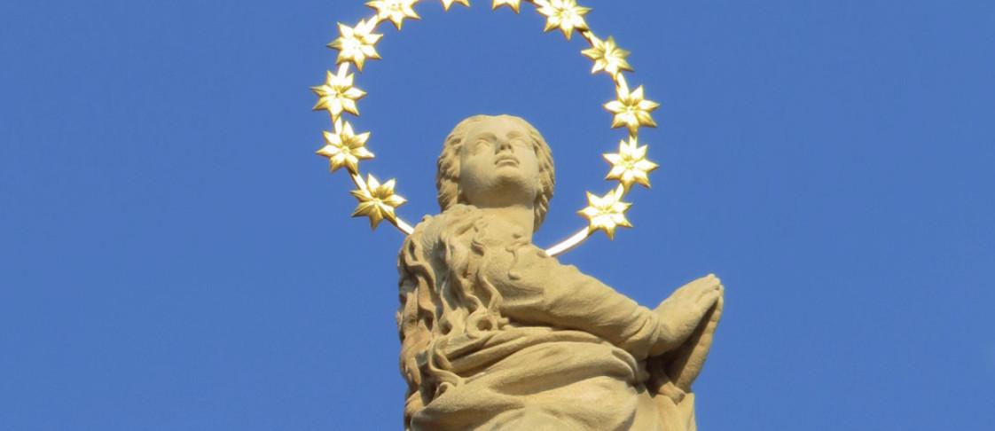 Požehnání Mariánského sloupu